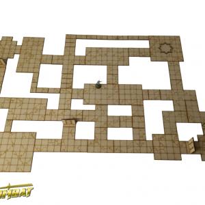 TTCombat   Fantasy Scenics (28-32mm) Dungeon Tiles Set A - RPG001 - 5060504042840