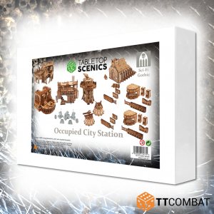 TTCombat   White Box Specials White Box Special: Occupied City Station - TTSCX-EXC-016 - 5060850179771