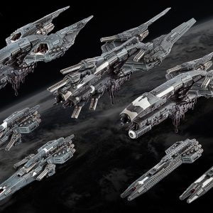 TTCombat Dropfleet Commander  UCM Fleet UCM Starter Fleet - HDF-31001 - 5060570132186