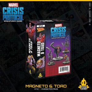 Atomic Mass Marvel Crisis Protocol  Marvel: Crisis Protocol Marvel Crisis Protocol: Magneto and Toad - CP42 - 841333112929