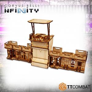 TTCombat   Infinity Terrain (TTCombat) Guard Outpost - TTSCW-SFU-086 - 5060570136054