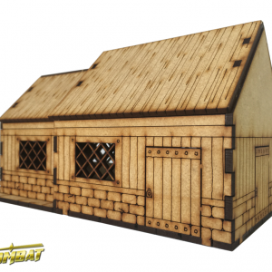 TTCombat   Fantasy Scenics (28-32mm) Village House A - RPG011 - 5060504047654