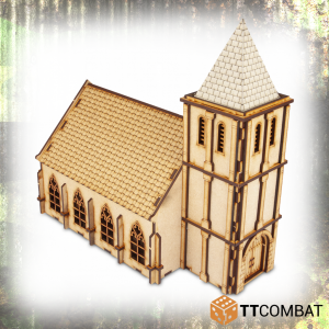 TTCombat   World War Scenics 25mm Chapel - TTSCW-WAR-033 -