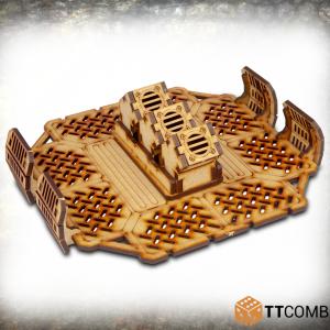 TTCombat   Industrial Hive (28-32mm) Sector 2 - Storage Platform Vents - TTSCW-INH-039 - 5060570133480