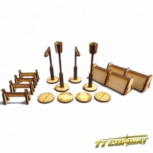 TTCombat   City Scenics (28-30mm) Street Accessories - DCS013 - 5060504040129