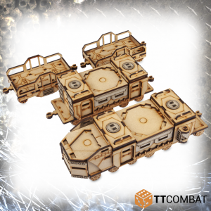 TTCombat   Sci Fi Gothic (28-32mm) War Train Set - TTSCW-SFG-072 - 5060570133916