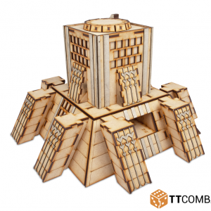 TTCombat   Sci Fi (15mm) Tyrosus Building - TTSCW-SFX-011 -