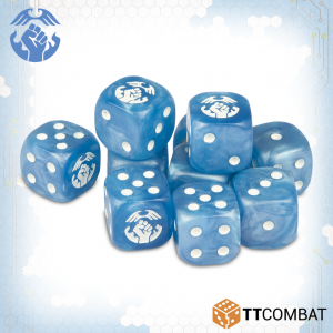 TTCombat Dropzone Commander  The Resistance Fleet Resistance Dice - TTDZR-RES-001 - 5060570135439