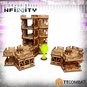 TTCombat   Infinity Terrain (TTCombat) Tri Building Complex - TTSCW-SFU-083 - 5060570136047