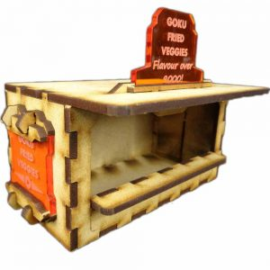 TTCombat   Sci Fi Scenics (28-32mm) Food Booth C (Goku Fried Veggies) - SFU018 - 5060504042086