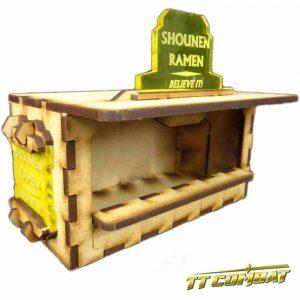 TTCombat   Sci Fi Scenics (28-32mm) Food Booth A (Shounen Ramen) - SFU016 - 5060504042062