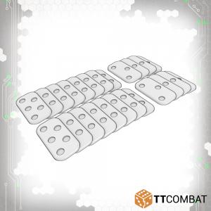 TTCombat Dropzone Commander  Plain Bases DZC Infantry Bases Pack - TTDZR-ACC-003 - 5060570135460