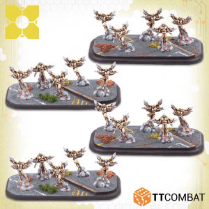 TTCombat Dropzone Commander  PHR Infantry PHR Valkyries - TTDZR-PHR-008 - 5060570139659