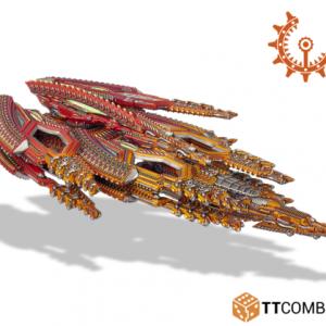 TTCombat Dropfleet Commander  Shaltari Tribes Fleet Shaltari Dreadnought - TTC-FCGX-SHA-005 - 5060570132797
