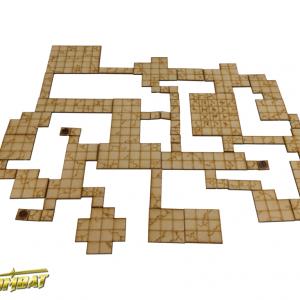 TTCombat   Fantasy Scenics (28-32mm) Dungeon Tiles Set B - RPG003 - 5060504042888