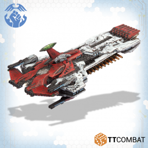 TTCombat   The Resistance Fleet Resistance Trident Battleship - TTDFX-RES-005 - 5060570137341