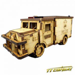 TTCombat   City Scenics (28-30mm) Police Truck - DCS005 - 5060504040044