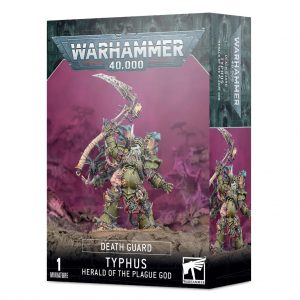 Games Workshop Warhammer 40,000  Death Guard Death Guard Typhus, Herald of the Plague God - 99120102126 - 5011921153558