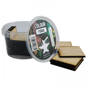 The Colour Forge   MDF Bases MDF Bases - 50mm Square (20) - TCF-MDF-50S - 5060843100454