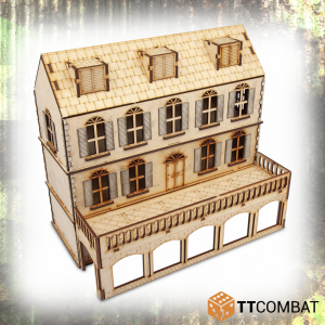 TTCombat   World War Scenics 25mm Village Hotel - TTSCW-WAR-038 -