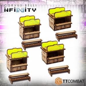 TTCombat   Infinity Terrain (TTCombat) Food Stalls - TTSCW-SFU-060 - 5060570135361