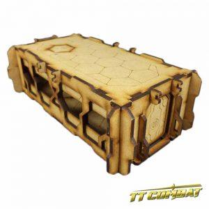 TTCombat   Sci Fi Scenics (28-32mm) Sci Fi Building C - SFU003 - 5060504041935
