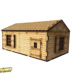 TTCombat   Fantasy Scenics (28-32mm) Hunting Lodge - RPG009 - 5060504047623