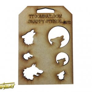 TTCombat   Stencils Wolves - SST21B - SST21B