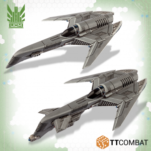 TTCombat   UCM Air Vehicles UCM Archangel Interceptor / Tactical Bomber - TTDZR-UCM-004 - 5060570137457