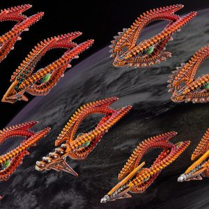 TTCombat Dropfleet Commander  Shaltari Tribes Fleet Shaltari Frigate Box - HDF-33003 - 740781772467