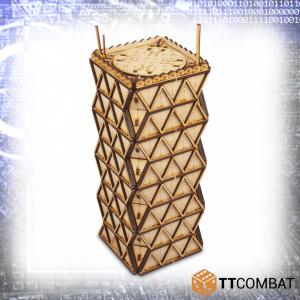 TTCombat   Sci Fi (15mm) Pythagoras Tower - TTSCW-SFX-052 -