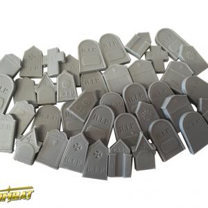 TTCombat   Fantasy Scenics (28-32mm) Gravestone Set (resin) - WWSRA003 - 5060504041607
