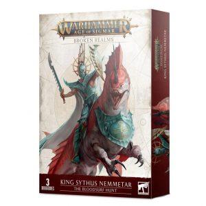 Games Workshop Age of Sigmar  Broken Realms Broken Realms: King Sythus Nemmetar – The Bloodsurf Hunt - 99120219015 - 5011921145386