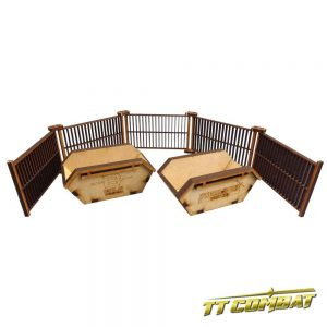 TTCombat   City Scenics (28-30mm) Refuse Skips - DCS019 - 5060504040181