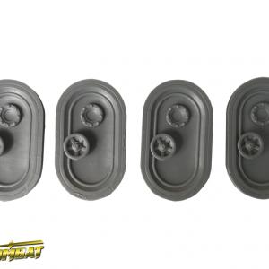TTCombat   Industrial Hive (28-32mm) Industrial Hive Door Hatches A - INHRA004 - 5060504049177
