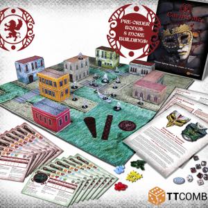 TTCombat   Carnevale Carnevale: 2-Player Starter Box - TTC-CMGX-ACC-001 - 5060570132834