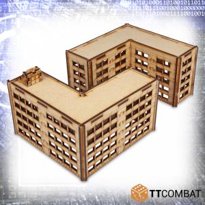 TTCombat   Sci Fi (15mm) Alphabet Tenements - TTSCW-SFX-055 - 5060570135576