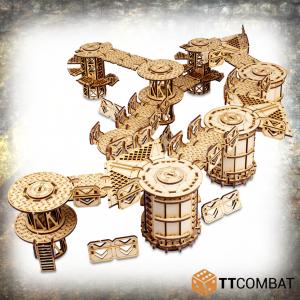 TTCombat   Industrial Hive (28-32mm) Sector 3 - Gamma Complex - TTSCW-INH-066 - 5060570138508