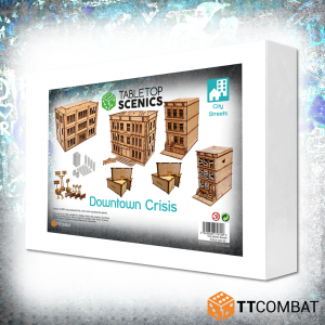 TTCombat   White Box Specials White Box Special: Downtown Crisis - TTSCX-EXC-011 - 5060850179726