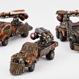 TTCombat   Resistance Land Vehicles Resistance Fire Wagons - DZC-25012 - 740781771620