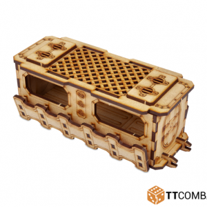 TTCombat   Industrial Hive (28-32mm) Sector 1 - Full Covered Walkway - TTSCW-INH-029 - 5060570133398