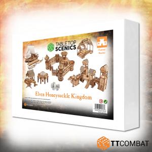 TTCombat   Elven City (28-32mm) White Box Special: Elven Honeysuckle Kingdom - TTSCX-EXC-012 - 5060850179733