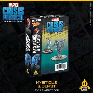 Atomic Mass Marvel Crisis Protocol  Marvel: Crisis Protocol Marvel Crisis Protocol: Mystique and Beast - CP43 - 841333111212
