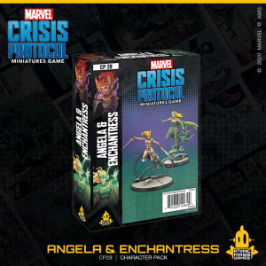 Atomic Mass Marvel Crisis Protocol  Marvel: Crisis Protocol Marvel Crisis Protocol: Angela and Enchantress - CP28 - 841333109349