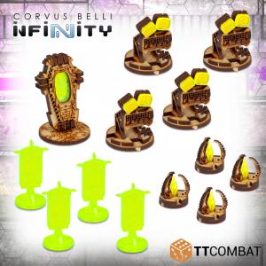TTCombat   Infinity Terrain (TTCombat) Infinity Objectives - TTSCW-SFU-074 - 5060570136078