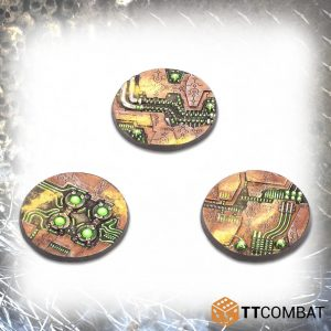 TTCombat   Tomb World 50mm Tomb World Bases (6) - TTSCR-SFG-017 - 5060570139185
