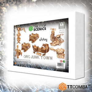 TTCombat   Sci Fi Gothic (28-32mm) White Box Special: Orc Junk Town - TTSCX-EXC-017 - 5060850179788