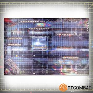 TTCombat   Tabletop Gaming Mats Underhive Mat - 6x4 - KDTTSCM-UHV-002 -