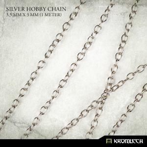 Kromlech   Modelling Chain Silver Hobby Chain 3,5mm x 3mm (1 meter) - KRMA048 - 5902216115194