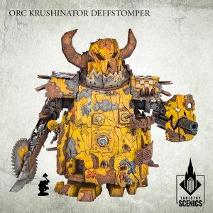 Kromlech   Orc Model Kits Orc Krushinator Deffstomper - KRTS144 - 5908291070564